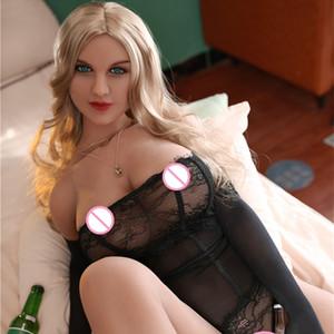 Nouveau 165 cm Taille de la vie du corps en silicone Poupées de sexe en silicone Chaud Cul et poitrine réaliste Japonais Vrai Love poupée Realistic Sex Toys pour hommes