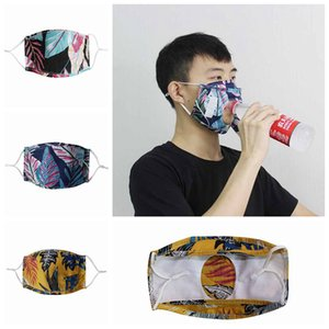 Reusable Drink Adult Mask Masks Designer Face Masks Beer To Drink Adjustable Eat Easy Mask Face Cover Dustproof Protective Mask YFALS22 Ouor