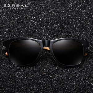 Ezreal Simple Simple Sunglasses Hommes Polarized Zebra Wood Sunglasses Masculino1