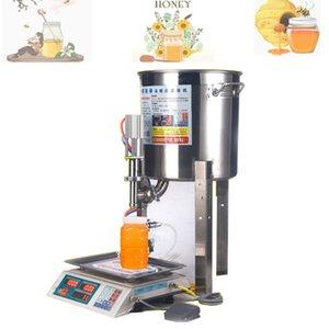 Machine de remplissage de pâte 30Lippressée pour une sauce à miel à liquide visqueux Cosmetic Gel Crème Food Boissons MachineryLiquide Remplissage quantitatif Ma