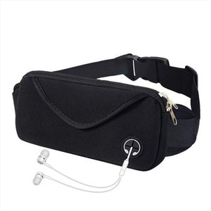 Waterproof Canvas Waist Bag Multi Purpose Adjustable Waist Pack Fanny Pack For Running Cycling Storage Anti Theft Bags Invisible