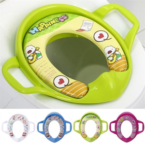 Baby Kids Simple Leisure Interesting Portable Comfortable Infant Potty Toilet Training Children Seat Pedestal Cushion Pad Ring LJ201110