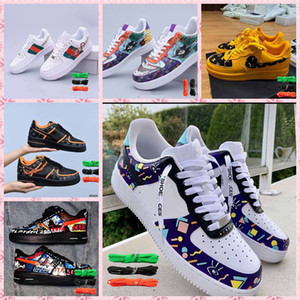 Wholesale Air Platform Sneakers Dunk 1 Women Mens Running Shoes One Utility White JDI orange MCA University Blue Force Shadow Trainers
