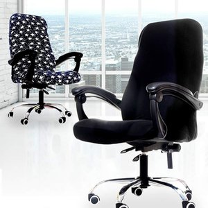 Chairs Anti-dirty Spandex Popular For Office Seat Computer Seat Office Slipcovers 1PC3 Sizes Chair Covers Stretch Removable
