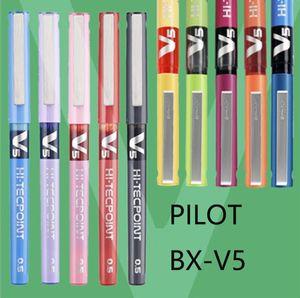 TUNACOCO Japanese PILOT BX-V5 Roller Ball Pens Fountain Pen Sign Pen Gel 0.5mm for School Supplies Office bb1710189