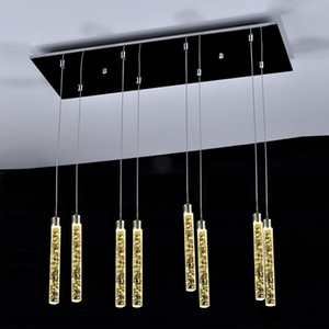 Lampadario luce per Soffitti alti Villa Entryway Scale Hanging spirale lungo lampade in cristallo Scala lampadario appendere le luci