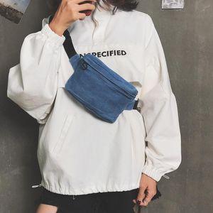 Bag Waist Chest Pack Purse Denim Shoulder Crossbody Women Fanny Belt Messenger Casual HISUELY For Bxgba Phone Handbags Bags Htqls