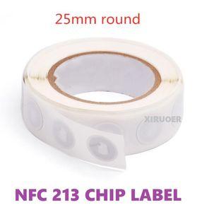 1000pcs NFC Business Sticker NFC 213 Chip 144Bes NFC Social Networking tag 13.56 MHz Etichetta RFID per il controllo dell'accesso del sistema di pagamento