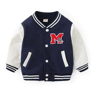 Boy's Baseball Uniform Spring Autumn Children's Clothes Casual Kids Windproof Sportswear Girls Boys Jacket Coats