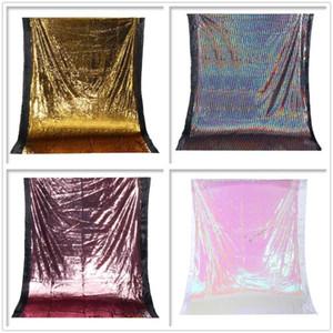 Glitter Tissu Tissu Tissu Toile de toile de fond 1.3x1.9m Photo Studio Photo Studio Photographie Toile de toile de fond Vide de mariage Décorations de mariage 4 couleurs1