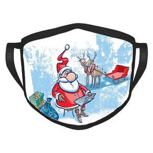 Noel Notebook Noel Dekorasyon Hediyelik Yüz Maskeleri ile Cadılar Bayramı Yüz Maskesi Tasarımcı Yüz Maskeleri Noel Santa Maske
