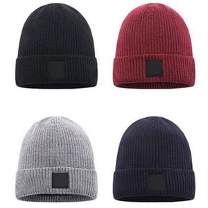 Sıcak Satış Açık Havada Moda Unisex Kış Örme Şapka Adam Beanie Örgü Sıcak Bonnet Spor Kap Kadın Şapkalar Örme Hip Hop Kafatası Açık Kapaklar