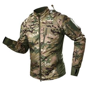 Men Germany Camouflage Jacket Ufpro Male Tactical Jacket Coat Winter CP Ultralight Waterproof Fleece Combat Military Jacket Men 1111