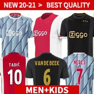 20 21 Ajax Soccer Jersey Player Version 2020 2021 Kudus Antony Blind PROMES TADIC NERES CRUYFF UOMO KIT KIT KIT CAMICIA DI CALCIO uniformi