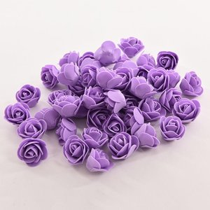 10 Colors 50PCS Bag PE Foam Rose Handmade DIY Wedding Home Decoration Multi-use Artificial Flower Head New