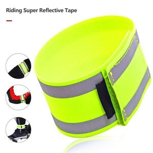 Cycling super reflective safety elastic high elastic leggings Arm Strap With Night Running Arm Band