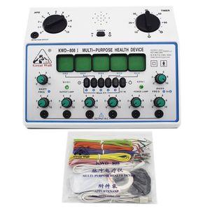 KWD-808I 6 채널 수십 유닛. 다목적 침술 자극기 건강 마사지 장치 전기 신경 근육 자극기