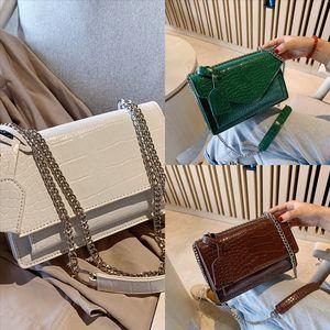3UXYO Newset Форма плеча формы аллигатор сумка заслонки цепные сумки сумки одиночные сумки на плечо Песочные часы женские сцепления женские мессенджер Crossbody