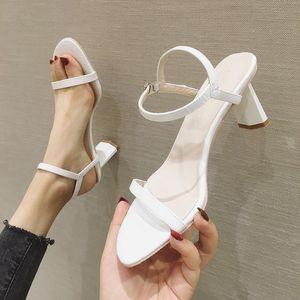 Net Celebrity roma donna coccodrillo modello open toe slingback pompe alligatore gladiatore spessi tacchi alti pattini delle donne sandals2020