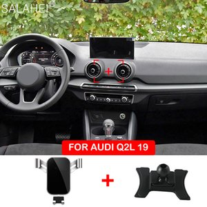 Car Mobile Mounts Stand Gravity Navigation Bracket For Audi Q2 GPS Phone Holder Accessories