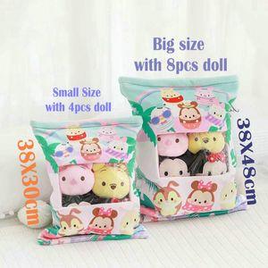 RabbitDogHamsterCatAvocado 푸딩 인형 봉제 일본 애니메이션 Sumikko Gurashi 장난감 소프트 베개 어린 소녀 선물의 가방