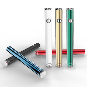 Slim Pen Twist Battery Preheat Variable Voltage 510 Vape Cartridge Battery with USB Charger In Blister pack