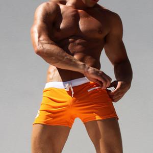 Pocket Shorts men's Shorts Adult swimsuit quick drying swimsuit sports pants beach swimsuit surfers