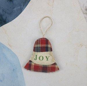 Ornements de Noël petit arbre de Noël suspendu bas xams draps pendentif cadeau cadeau de noël stockage de noël décoration de la fête HWC3105