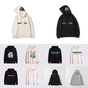 Yeni Ürün Çok Stil Sıcak Satış Bayan Tasarımcı Hoodie Moda Hayvan Yansıtıcı Sonbahar Ve Kış Marka Erkek Uzun Kollu Rahat Kazak