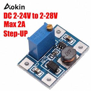 2-24V к 2-28V 2A DC-DC SX1308 повышающего Регулируемый модуль питания Step Up конвертер для Arduino DIY Kit SWfv #
