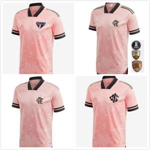 2020 2021 플라멩고 Camisetas 브라질 Octubre 로사 상파울루 SC 인터내셔널 특별한 축구 유니폼 (20 개) (21) 저지 셔츠