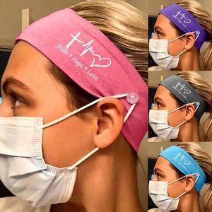 5 couleurs Designer femmes Yoga Fitness Bandeau élastique lait soie infirmière bouton Hairband Sports de plein air Bandeaux Accessoires cheveux