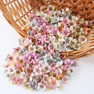 50 100pcs 2cm Mini Silk Artificial Flower Daisy Flower Head For Wedding Home Decoration Diy Craft Wreath Gift Scra jllYtj