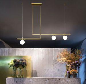 Modern Dinning Room Pendant Lighting Nordic Glass Ball Pendant Lamp Art Decor Bar Shop Light Fixture Lustre Luminaire Lampara