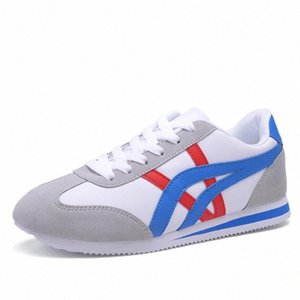 Newbeads Men Donne Moda Sneakers in pelle Moda Impermeabile Scarpe casual coppia Lace Up Athletic Running Fitness Shoes # 8U3C