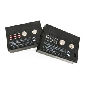 Portable 510 Resistenza alla tensione del filo Dual Tester E Nail Vape Batteria ECig Atomizzatore Tester Tester Tester Mod Resistenza Tester