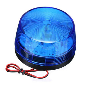 Car Signal Strobe Light LED 12V Magnetic Base Auto Car School Bus Truck Lorry Warning Flashing Light Beacon Warning Lamp