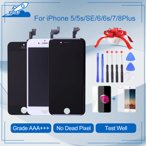 wholesale Grade For iPhone 6 6S Plus LCD Touch Digitizer Screen Assembly Replacement iphone 5S Display Screens
