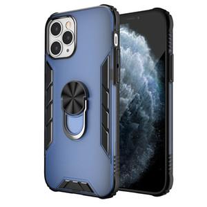 Для iPhone 12 Mini 11 Pro XS MAX XR Примечание 20 Премиум Качество Мобильные Телефонные Сумки Сумки Охрана Кольцевая Кронштейн Ударный телефон