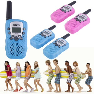 2 Pcs  Lot Rt -388 Walkie Talkie Toys For Children 0 .5w 22ch Two Way Kids Radio Boys And Girls Brithday Xmas Gift