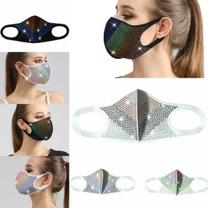 6TBU washing New men's and women's universal black fashion camouflage stereo cotton mask