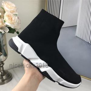 Yeni Çorap Ayakkabı Hız Eğitmen Nefes Sneakers Hız Eğitmen Çorap yarışı Koşucular siyah ayakkabı erkek ve kadın spor ayakkabı Chaussures