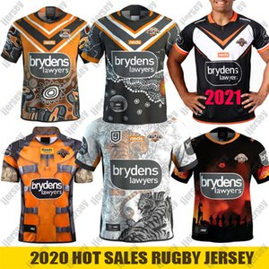 2021 Nines Jersey Batı Tigers Rugby Jersey Yerli Süper Rugby Formalar Anzak Roket Rakun Avustralya NRL Rugby Lig Formaları