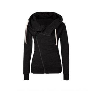 la moda de otoño bolsillo de la solapa larga zippersleeve cremallera oblicua de la moda otoño abrigo largo zippersweater zippersleeve solapa de bolsillo con cremallera oblicua