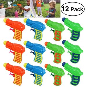 12pcs Water Gun Toys Plastic Water Squirt Toy For Kids Watering Game Party Outdoor Beach Sand Toy (Random Color) 200928