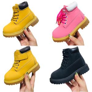 Детские ботинки покинутые сосновые кружева молодежные премиальные малыши водонепроницаемые кроссовки младенческие Бруклина кроссовки древесины мальчик девочек наземные туфли