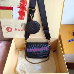 Designer classico Donne borse di modo Multi Pochette New Wave Spalla a tracolla Borsa a tracolla Borse da donna 2 Pz Borse Borse Borse Crossbody Tote Borsellino