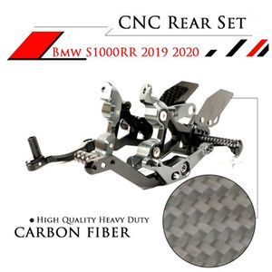 Motosiklet CNC Ayarlanabilir Footrests S1000RR 2019-20201 için Rearset Arka Setleri