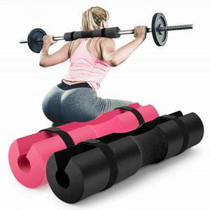 Weight Lifting Squats Hip Glute Training Barbell Pad Squat Pad Protector for Neck & Shoulders Fitness Bodybuilding Gym Equipment