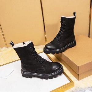 Cuir de mode Star Femme Chaussures Femme Cuir court Automne Hiver cheville Mode Marque Bottes de neige Femme 09 L # 62932411143